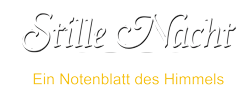 Stille Nacht Musical Logo